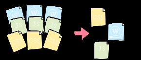 レンダリングブロック要素排除のイメージ