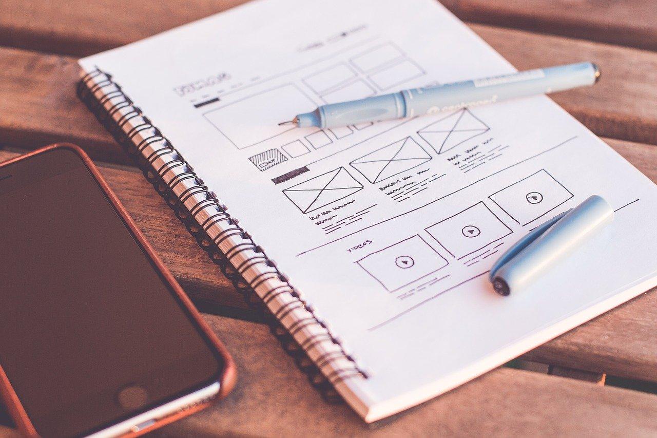 WEBサイトのデザイン設計