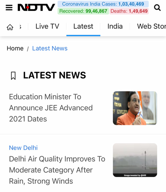 インド最大のメディア「NDTV」の場合