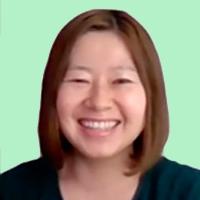 営業本部マーケティング&コミュニケーショングループ 澤口歩氏のZoomキャプチャ