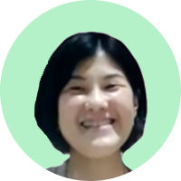 営業本部マーケティング&コミュニケーショングループ 内田郁子氏のZoomキャプチャ